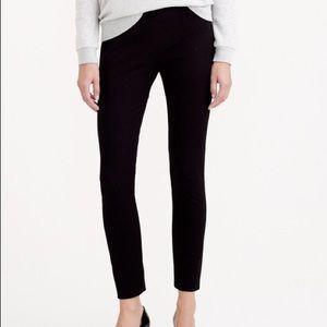 J. Crew Minnie black cropped pants size 2
